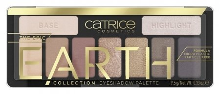 Палетка теней The Epic Earth Collection Eyeshadow Palette Inspired By Nature  Catrice