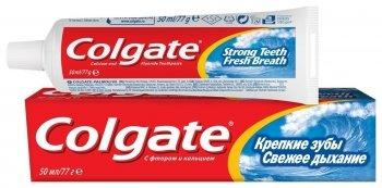"""Зубная паста """"Крепкие зубы. Свежее дыхание"""""""