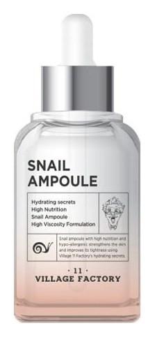 Сыворотка для лица с муцином улитки Snail Ampoule  Village 11 Factory