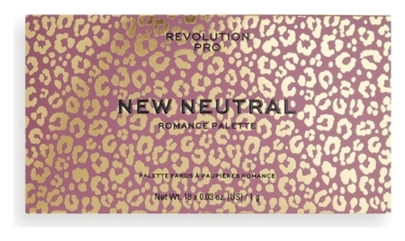 Палетка теней для век New Neutral Romance Palette  Revolution PRO