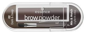 Тени для бровей Brow Powder Set  Essence