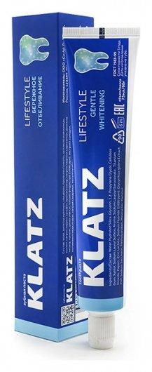 Зубная паста бережное отбеливание   Klatz