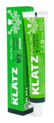 Зубная паста для мужчин жгучий абсент  Klatz
