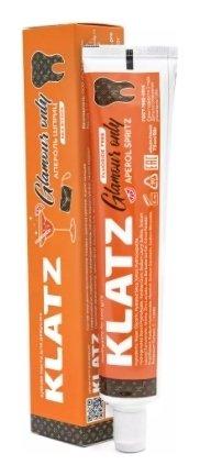 Зубная паста для девушек апероль шприц без фтора  Klatz