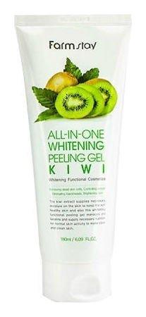 Отшелушивающий гель с экстрактом киви Whitening Peeling Gel Cream Kiwi  FarmStay
