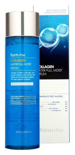 Увлажняющая коллагеновая сыворотка Collagen Water Full Moist Serum FarmStay Collagen Water Full Moist
