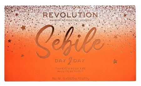 Палетка теней для век Sebile Day 2 Day  Makeup Revolution