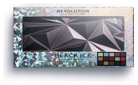 Палетка теней для век Glass Black Ice Eyeshadow Palette  Makeup Revolution