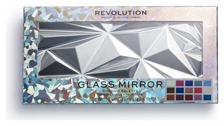 Палетка теней для век Glass Mirror Eyeshadow Palette  Makeup Revolution