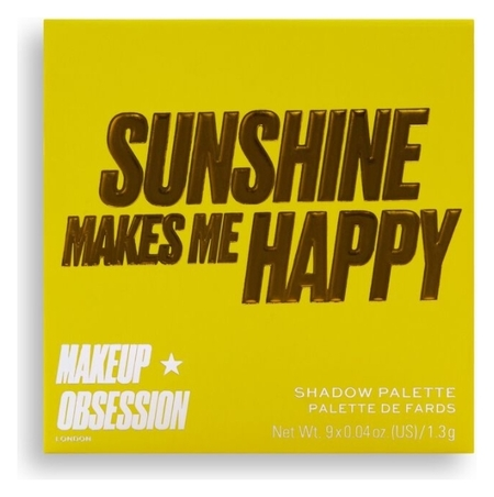 Тени для век Sunshine Makes Me Happy Eyeshadow Palette  Makeup Obsession