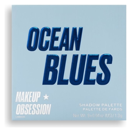 Тени для век Ocean Blues Eyeshadow Palette  Makeup Obsession