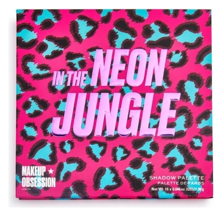 Палетка теней для век In The Neon Jungle Eyeshadow Palette  Makeup Obsession