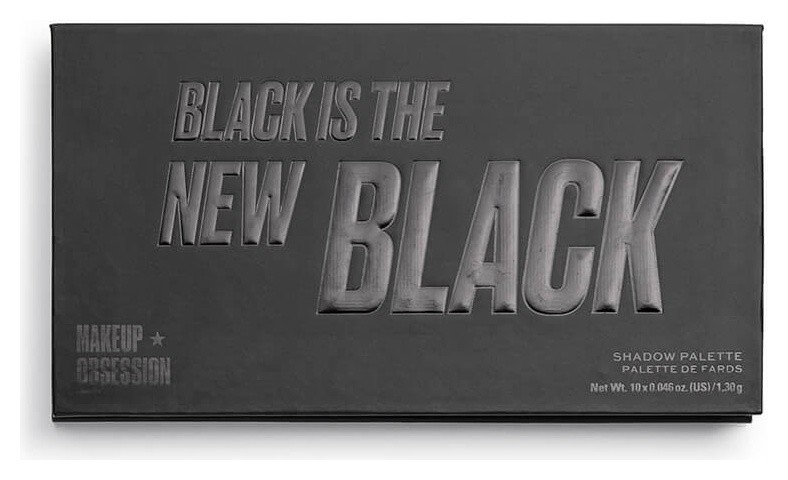 Палетка теней для век Black Is The New Black  Makeup Obsession