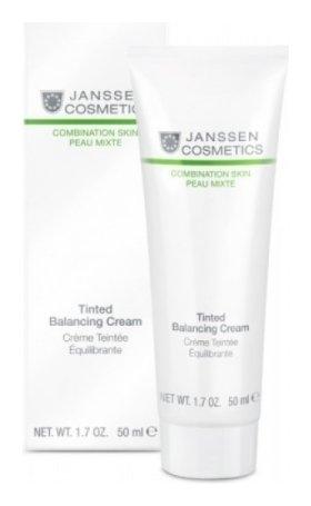 Крем балансирующий с тонирующим эффектом Tinted Balancing Cream  Janssen Cosmetics