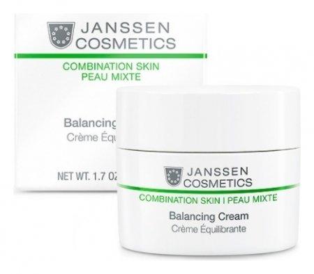 Крем для комбинированной кожи балансирующий Balancing Cream  Janssen Cosmetics
