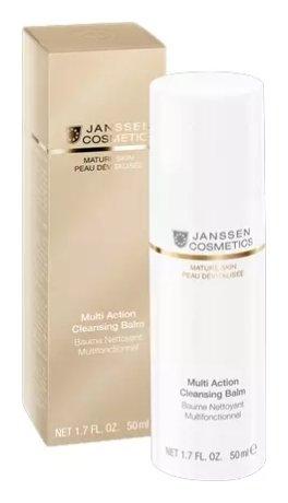 Бальзам мультифункциональный для очищения кожи 4в1 Multi Action Cleansing Balm  Janssen Cosmetics
