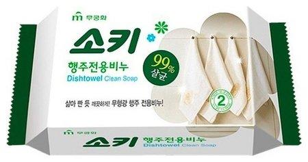 Хозяйственное мыло для стирки кухонного текстиля и мытья поверхностей Mukunghwa