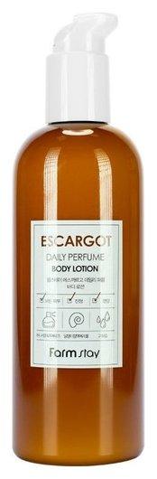 Парфюмированный лосьон для тела с муцином улитки Escargot Daily Perfume Body Lotion  FarmStay