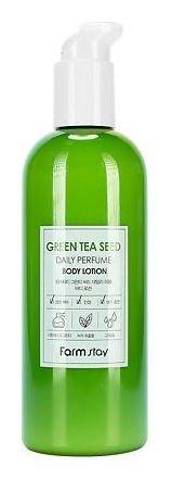 Парфюмированный лосьон для тела с экстрактом зеленого чая Green Tea Seed Daily Perfume Body Lotion  FarmStay
