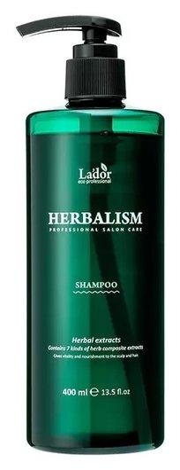 Шампунь для волос слабокислотный травяной с аминокислотами Herbalism Shampoo  LADOR