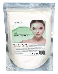 Альгинатная маска с экстрактом алоэ  Lindsay