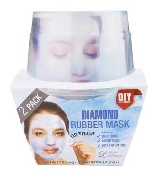 Альгинатная маска с алмазной пудрой Пудра+активатор  Lindsay