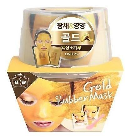 Альгинатная маска с коллоидным золотом Пудра+активатор  Lindsay