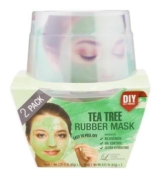 Альгинатная маска с маслом чайного дерева Пудра+активатор 2х(65 г+6,5 г)