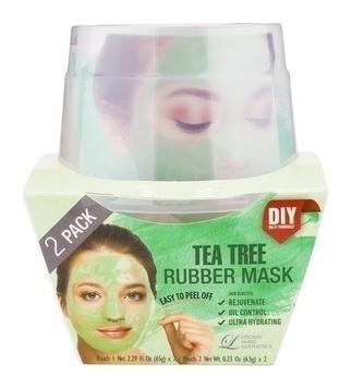 Альгинатная маска с маслом чайного дерева Пудра+активатор  Lindsay