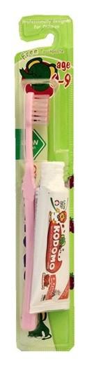 Набор детский зубная щетка + паста 6 лет - 9 лет Кодомо  LION