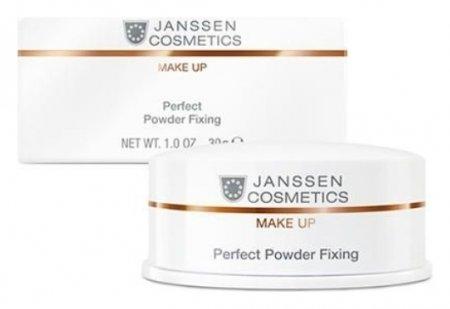 Пудра для фиксации макияжа Perfect Powder Fixing  Janssen Cosmetics