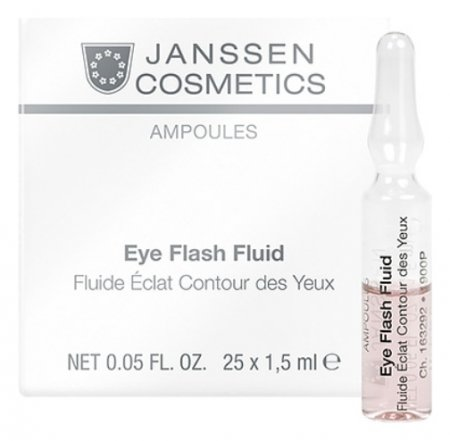 Сыворотка для контура глаз восстанавливающая Eye Flash Fluid  Janssen Cosmetics
