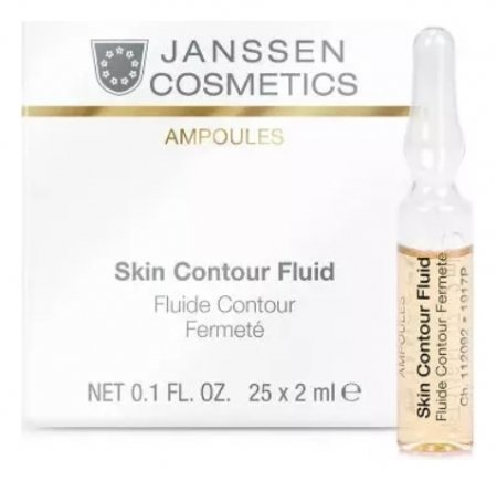 Лифтинг-сыворотка для лица с пептидами в ампулах Skin Contour Fluid Anti-age  Janssen Cosmetics