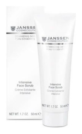 Скраб для лица интенсивный Intensive Face Scrub  Janssen Cosmetics