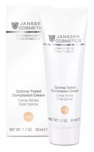 Крем для лица дневной оптимал комплекс Optimal Tinted Complexion Cream  Janssen Cosmetics