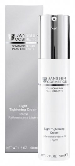 Крем для лица легкий укрепляющий Light Tightening Cream   Janssen Cosmetics