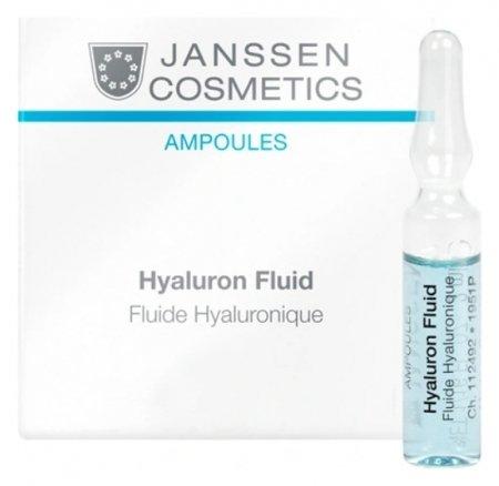 Сыворотка ультраувлажняющая с гиалуроновой кислотой  Janssen Cosmetics