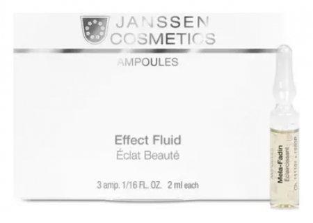 Ампулы осветляющие для кожи лица Мela-Fadin  Janssen Cosmetics
