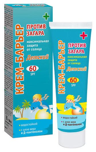 "Крем-барьер против загара SPF 60 ""Детский""  Sun Style"