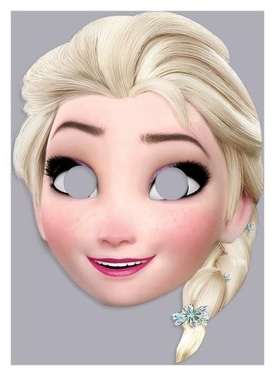 """Маска карнавальная """"Эльза"""", холодное сердце  Disney"""