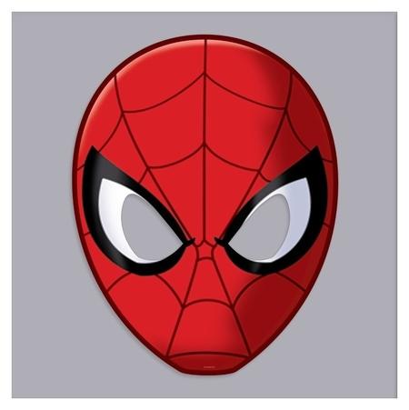 Маска карнавальная, человек-паук  Marvel