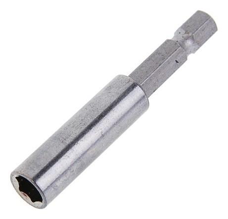Адаптер для бит Tundra, с магнитом, 60 мм, 1 шт.  Tundra