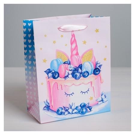 Пакет ламинированный вертикальный Sweet, ML 23 × 27 × 11,5 см Дарите счастье