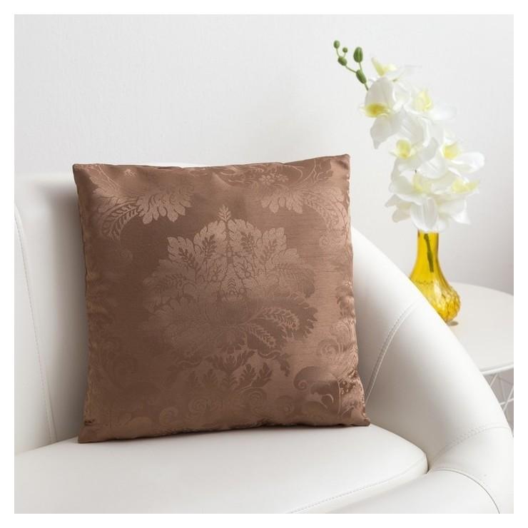 Декоративная подушка «Этель» 40х40 см дамаск Cappucсino Этель