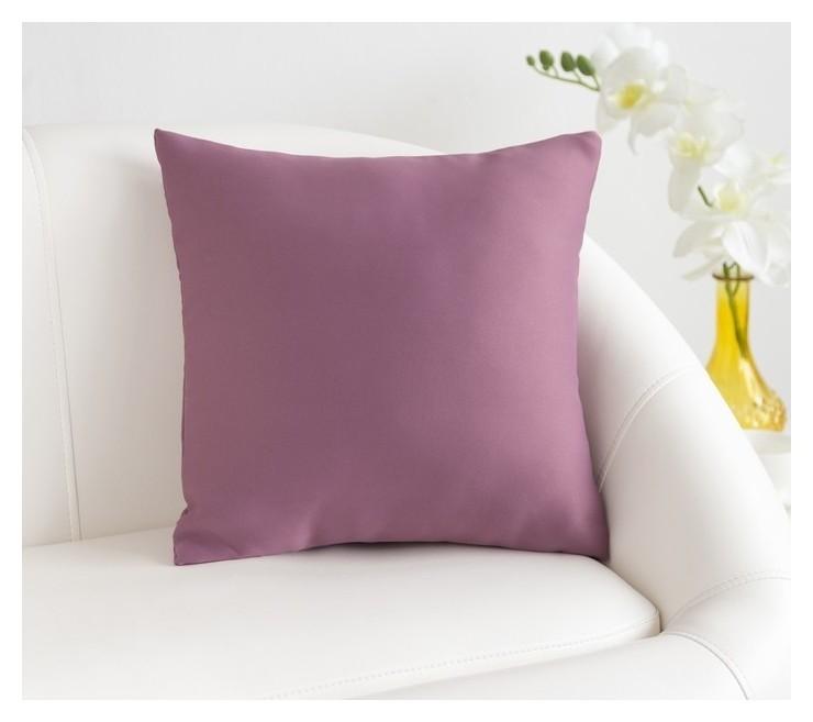 Подушка декоративная «Этель» «classic» цвет фиолетовый, 40×40 см, пл. 210 г/м², 100% п/э Этель