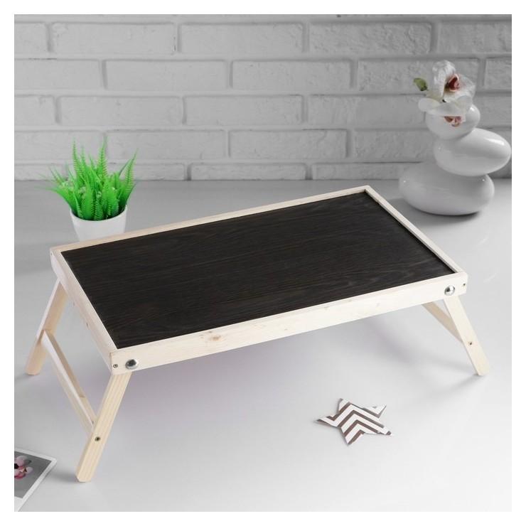"""Столик для завтрака """"Ренессанс"""", натуральный, 50×30 см  Добропаровъ"""