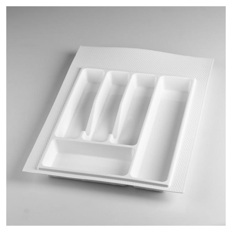 Лоток для столовых приборов 400 мм белый  NNB