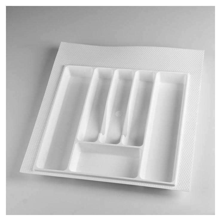 Лоток для столовых приборов 500 мм белый  NNB