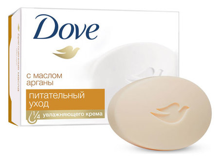 """Крем-мыло """"Драгоценные масла""""  Dove"""