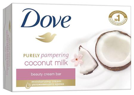 """Крем-мыло """"Кокосовое молочко и лепестки жасмина""""  Dove"""